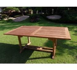 사각 익스텐션 테이블(티크)