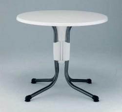 폴로 라운드 테이블[White]