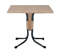 폴로 사각 테이블[Brown]