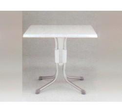 폴로 사각 테이블[silver]